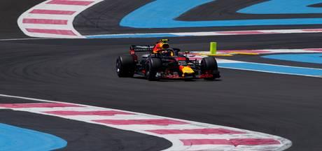 Rustige tweede training Verstappen, Hamilton de snelste