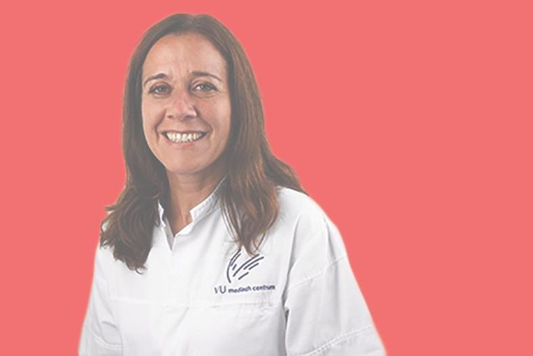 Angelique Spoelstra is onderzoeker op de afdeling intensive care van het VUmc. Beeld -