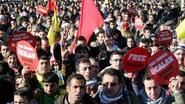 Duizenden Koerden vragen om vrijlating PKK-leider Öcalan