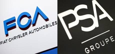 Zorgen over fusie Fiat Chrysler en Peugeot