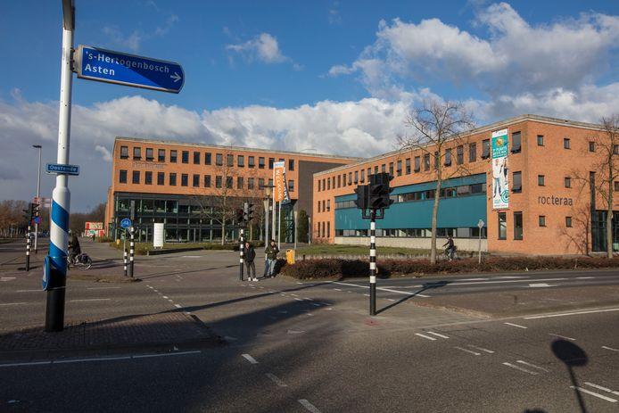 Het gebouw van ROC Ter Aa aan de Keizerin Marialaan in Helmond.