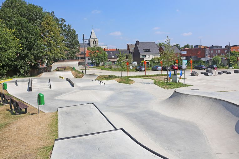 De Borcht-site met skatepark werd in het voorjaar plechtig geopend.