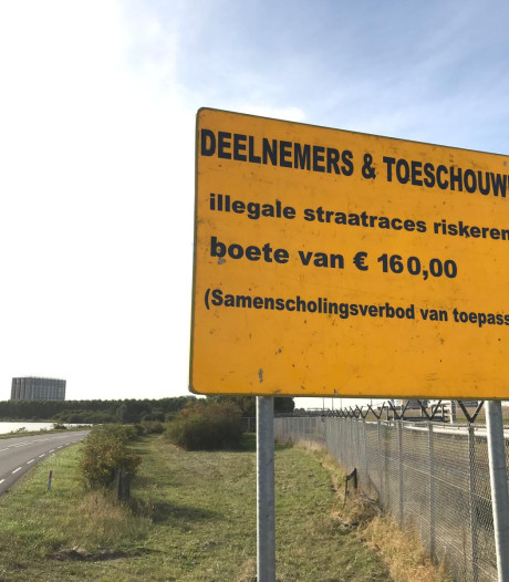 Extra controles op illegale straatraces in Hoek