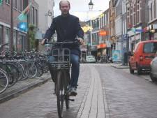 Haagdijk achtste fietsstraat in Breda