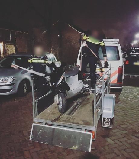 Gestolen scooter Nieuwegein binnen drie uur terug bij eigenaar