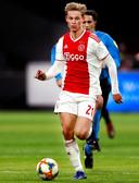 Frenkie de Jong in actie tegen Heerenveen afgelopen zondag.