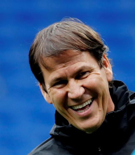 Rudi Garcia, nouvel entraîneur de Lyon et Denayer