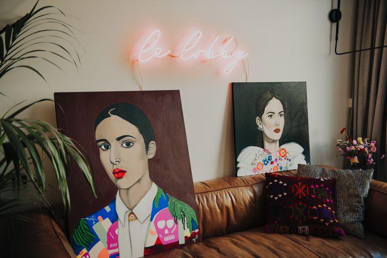 Yaëls stijl doet denken aan de Mexicaanse Frida Kahlo.