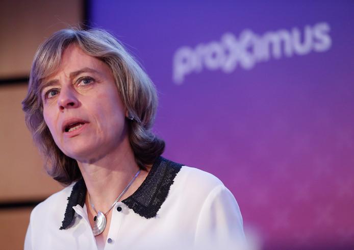 Dominique Leroy, CEO de Proximus.