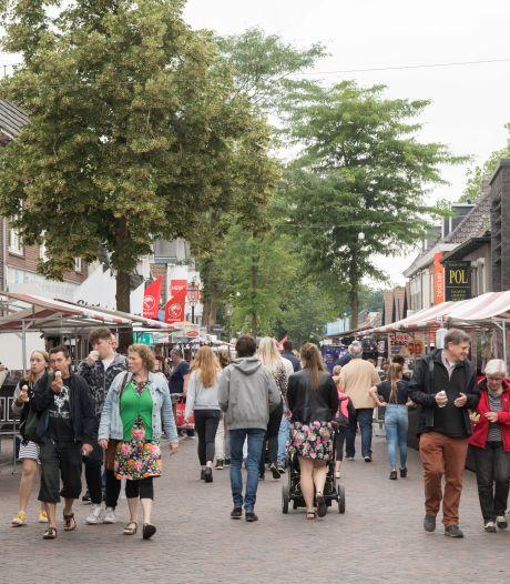 Fietsers worden deze zomer geweerd uit het centrum van Nunspeet