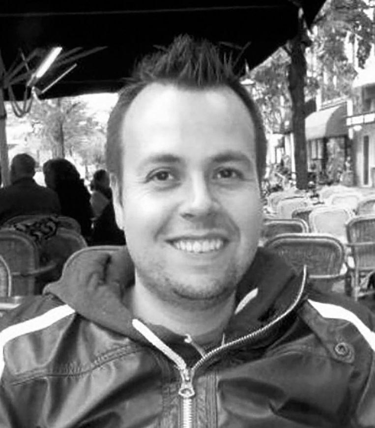 Arjan Welles, redacteur van Pretpark Amsterdam. Beeld -