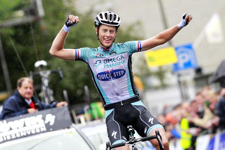 Terpstra behaalt de Nederlandse titel. Beeld anp