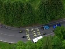 Commentator Kroon mond gesnoerd door wielerfan: 'Karsten, klep dicht'