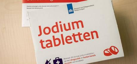 Inwoners Rheden en Rozendaal krijgen jodiumpillen
