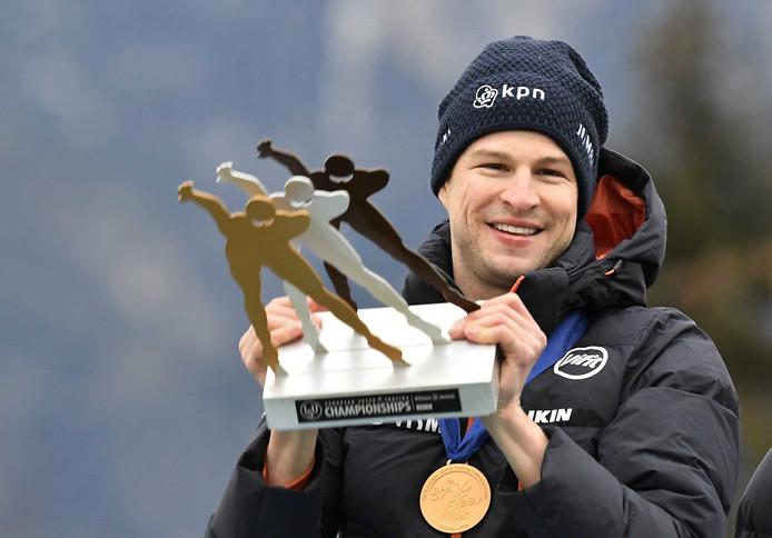 Sven Kramer mag zich in een illuster rijtje voegen.