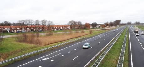 De A58 is op meerdere plaatsen te lawaaiig