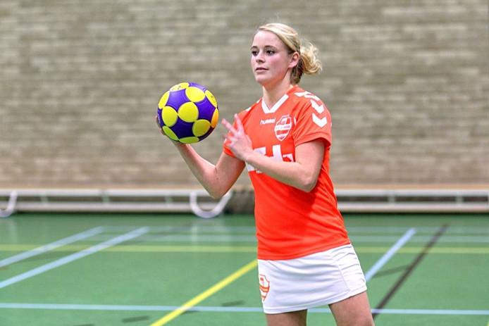 Juliana-speelster Inge van der Heijden.