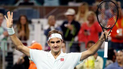 """""""Houdt hij ons voor de gek?"""": Federer (37) pakt uit met next level-volleys en verwijst dan naar zijn afscheid"""