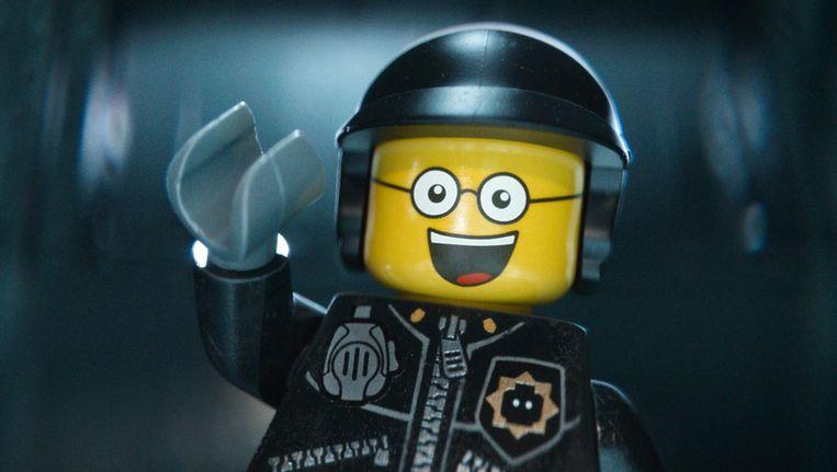Bad Cop/Good Cop, een van de karakters uit The Lego Movie, die in de Engelstalige versie wordt ingesproken door Liam Neeson. Beeld ap