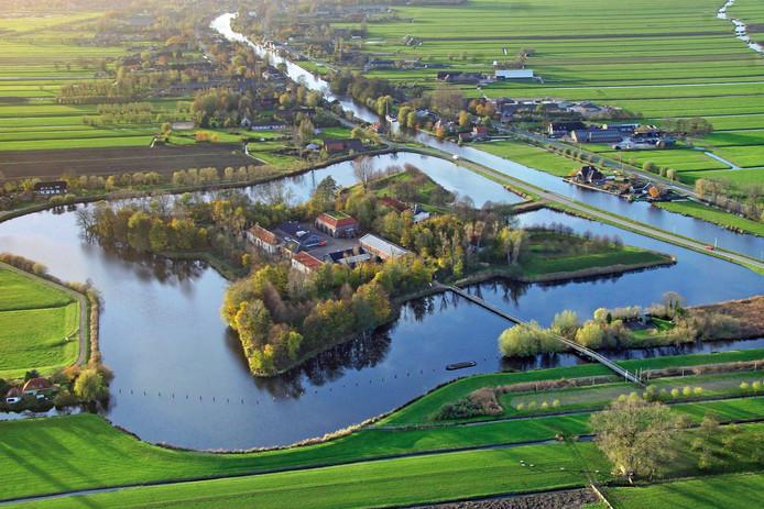 Fort Wierickerschans maakt onderdeel uit van de Oude Hollandse Waterlinie