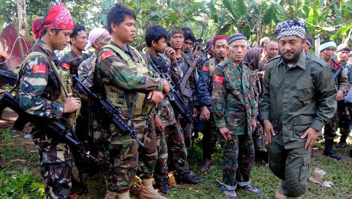 Leden van het Moro National Liberation Front