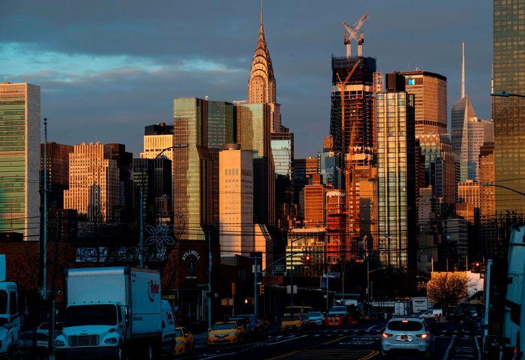 Wolkenkrabbers in Manhattan.
