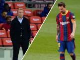 Koeman: 'Ik zei tegen Messi dat hij eerder moest scoren.'