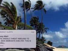 Politicus na vals raketalarm Hawaii: 'Dit heeft levens in gevaar gebracht'