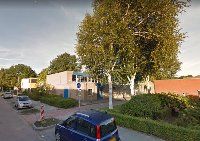 De gymzaal aan de Verhulstlaan in Tilburg.