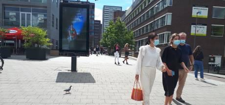 Mondkapjesplicht in Amsterdam en Rotterdam op  drukke plekken