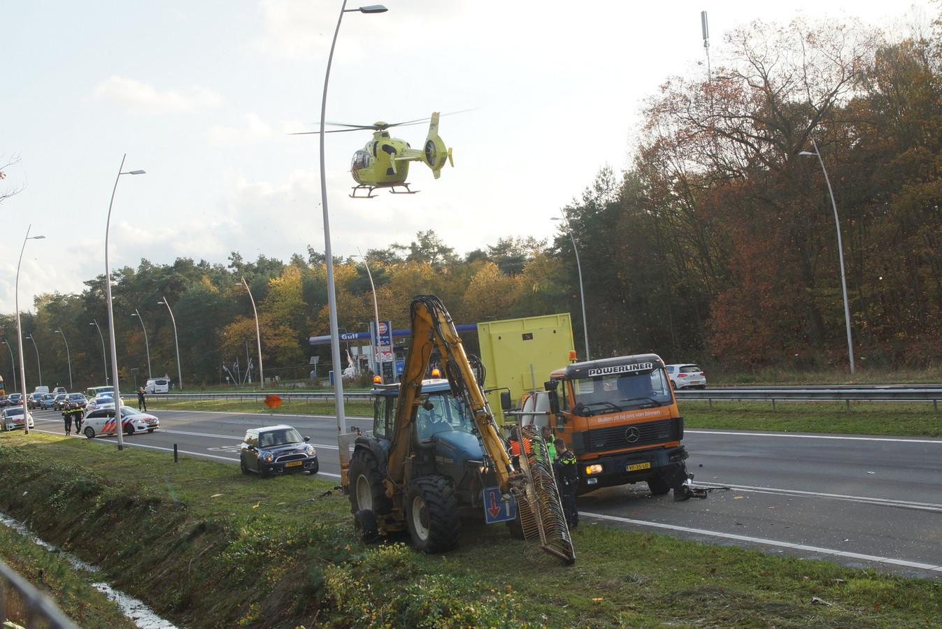Zwaar ongeval bij Kaatsheuvel