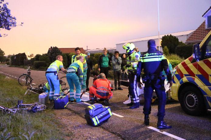 Een 17-jarige Naaldwijker, net geslaagd voor zijn vwo, werd afgelopen weekend geschept door een dronken automobilist.