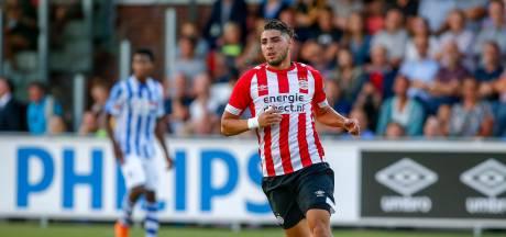 Maxi Romero geeft bij PSV weer teken van sportief leven