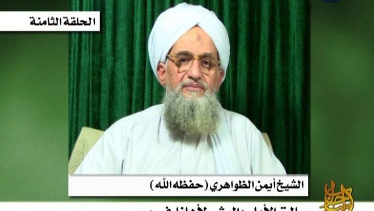 Al-Qaeda-leider Ayman al-Zawahiri. Beeld null