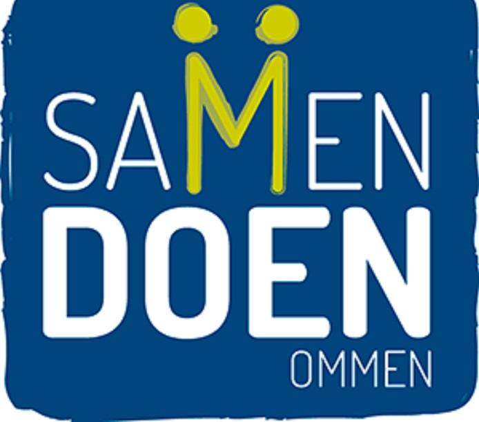 Het logo van Samen Doen in Ommen.