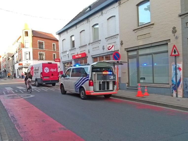 Het ongeval gebeurde aan de Press Shop in de Zwijnaardsesteenweg