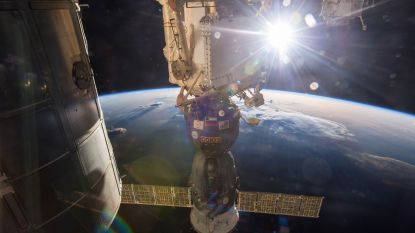 """Lek in capsule die aan ruimtestation ISS hangt mogelijk kwaad opzet"""