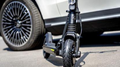 Mercedes-Benz brengt zijn eerste elektrische step op de markt
