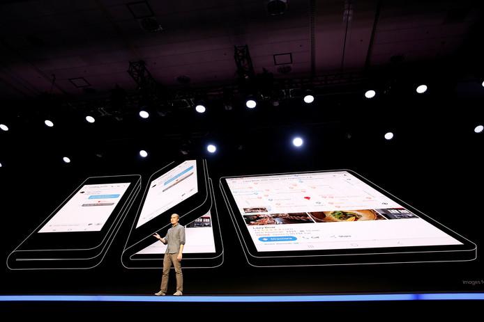 Glen Murphy, hoofd van  Android UX bij Google, sprak eveneens tijdens de conferentie in San Francisco.