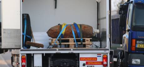 Engelse niet-ontplofte bom uit Tweede Wereldoorlog in kelder in Barneveld aangetroffen