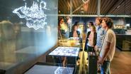 Lichtkunstenaar wekt damast tot leven in museum Texture