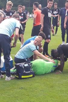 Andreias Calcan behoedt Willem II voor nederlaag; Eindhovense keeper loopt dubbele beenbreuk op