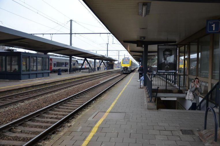 Het station van Lokeren.