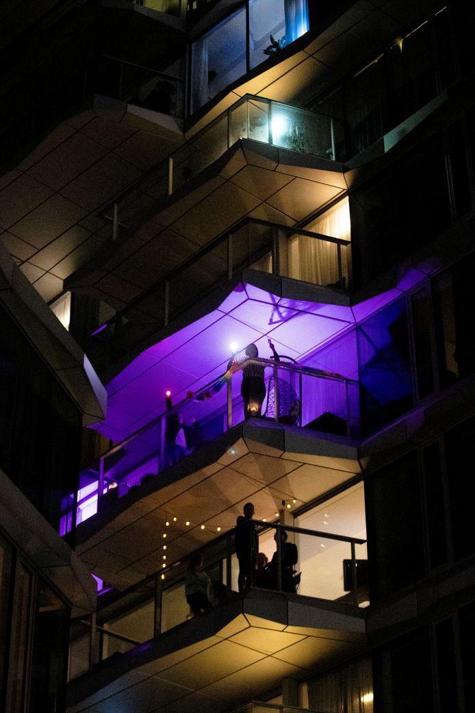 Balkonparty