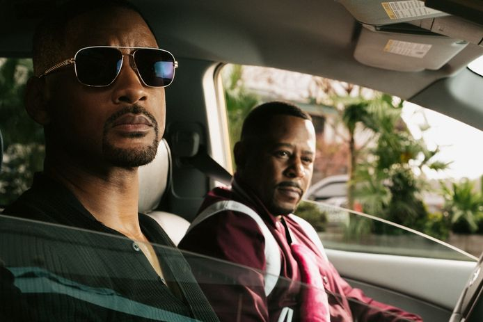 """Will Smith et Martin Lawrence pour le film """"Bad Boys for Life""""."""