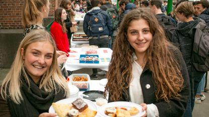 Leerlingen houden foodfestival voor goede doel