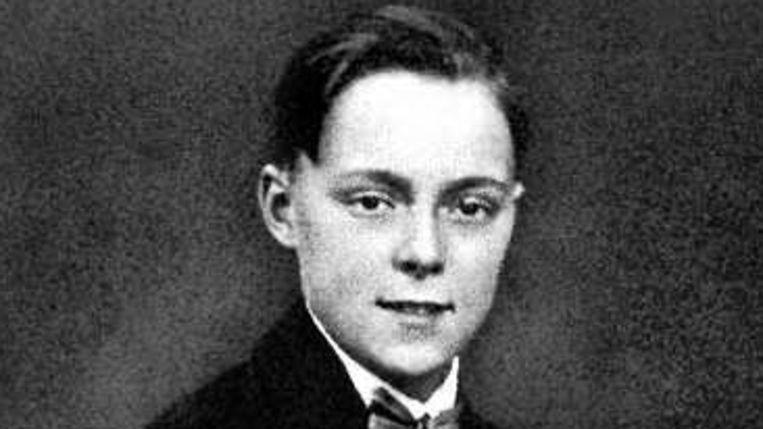 Bernhard in 1925 (Foto uit boek Van der Zijl) Beeld