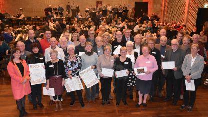 35 jubilerende verenigingen op nieuwjaarsreceptie