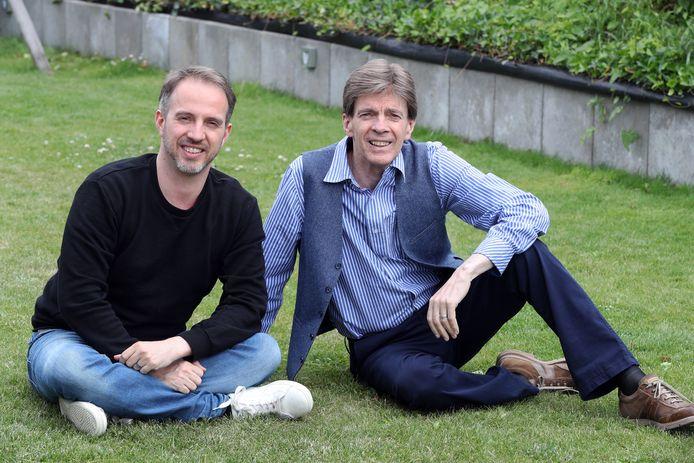 Paul Severs met zijn zoon Christophe