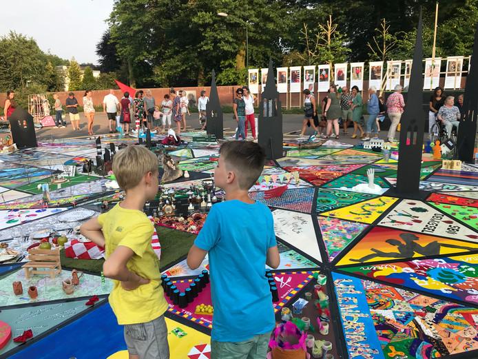 De reuzepuzzel MeierWIJstad is genomineerd voor de Kunst- en Cultuurprijs Meierijstad.